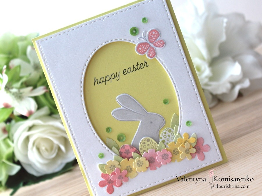 PTI Easter Bunny Card