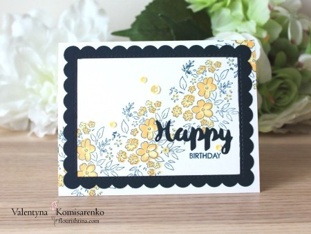 Sunny Blossoms Card