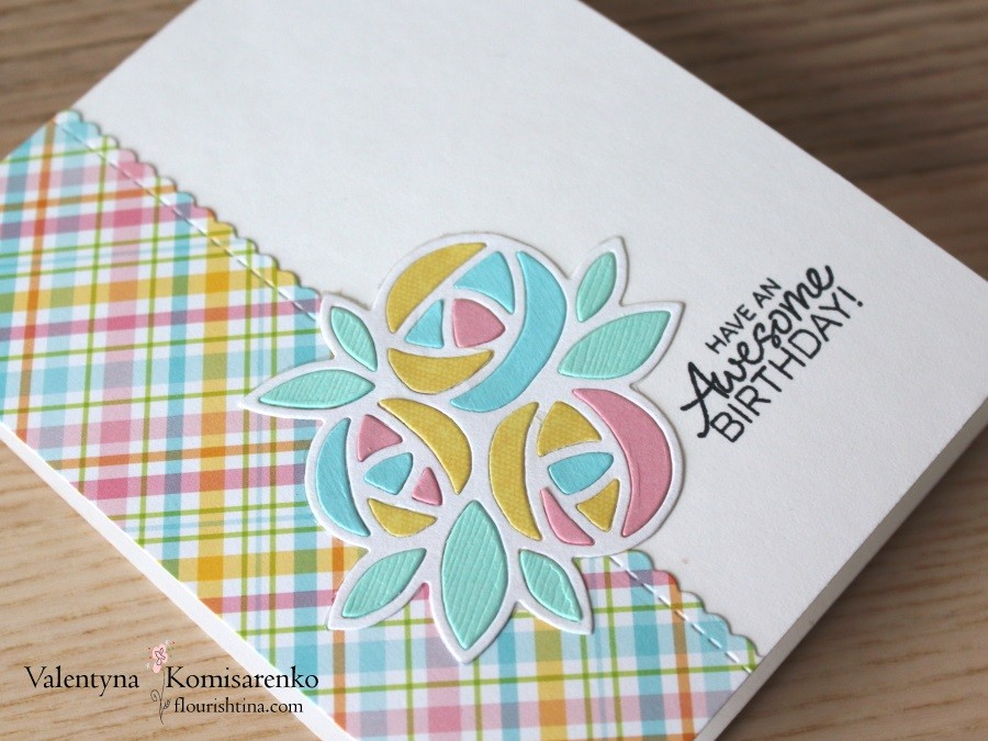 Flowery Card, by Flourishtina