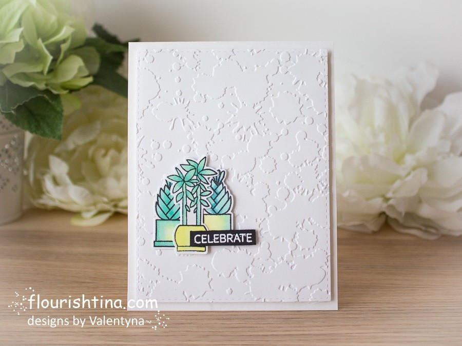 Celebrate CAS Textured Card