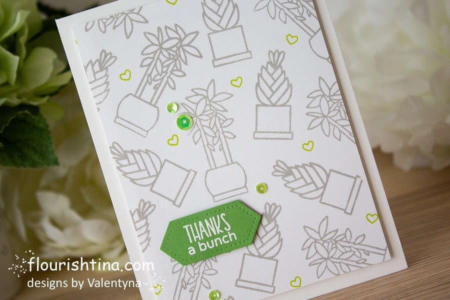 Soft Colors Thank You Card - Flourishtina