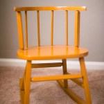 Vintage Kids Rocking Chair 20 Flourishvintage