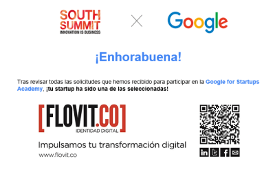 Flovit.co seleccionada para participar en el Google for Startups Academy en el South Summit 2019