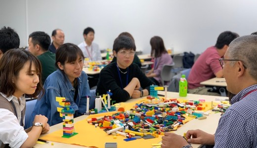 内定式&全社レゴ研修