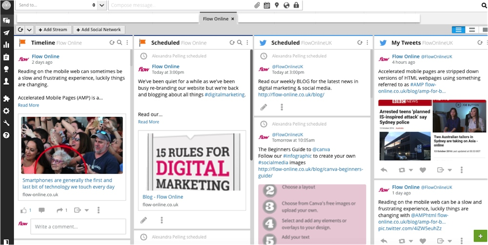 Social media scheduling using hootsuite over the holidays fandeluxe Gallery