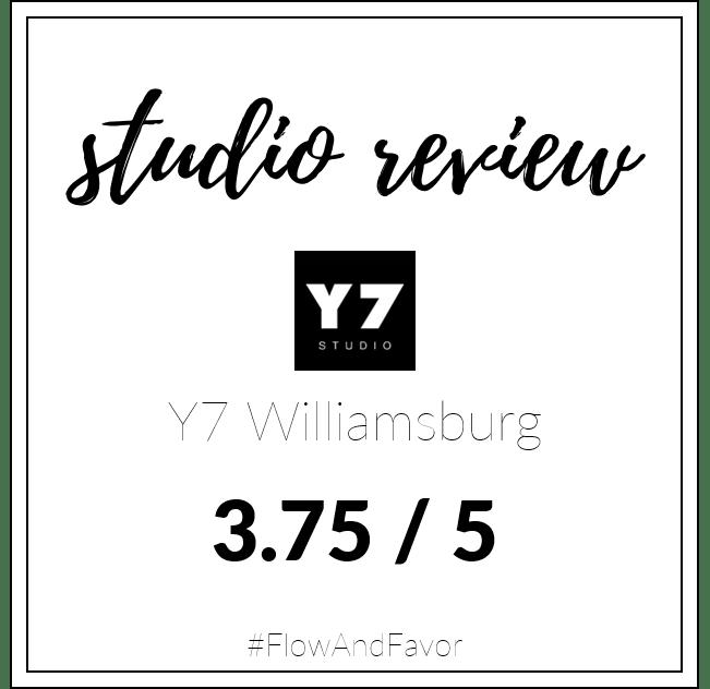 Studio Review: Y7 Williamsburg
