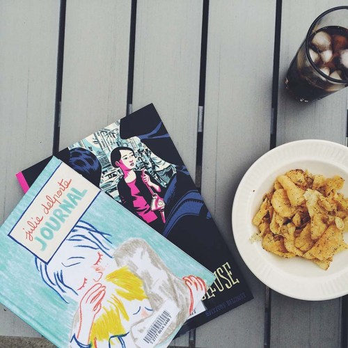 Graphic Novels and Chips