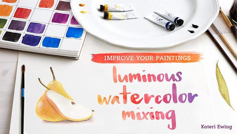 Luminous Watercolor by Craftsy