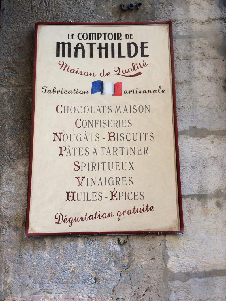 Typography in France. Typography Lettering