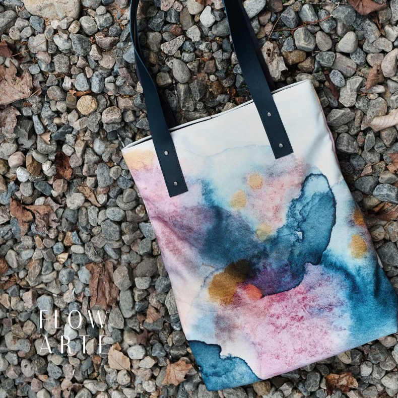 FlowArteTote Bag