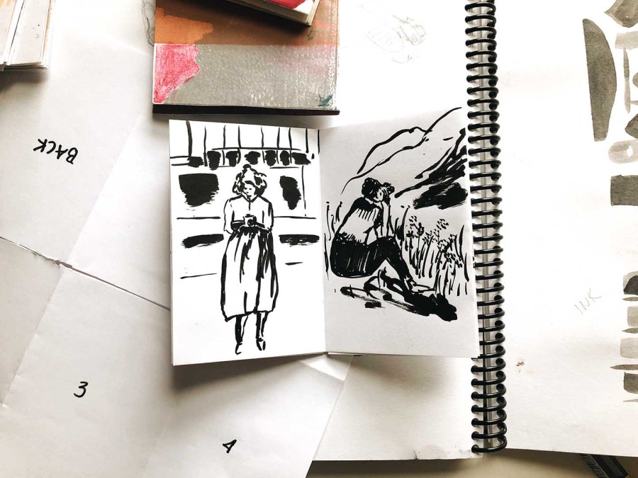 Brushpen Zine by FlowArte