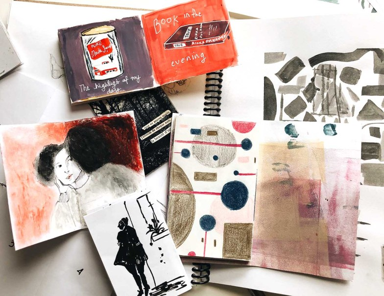 Collection of zines