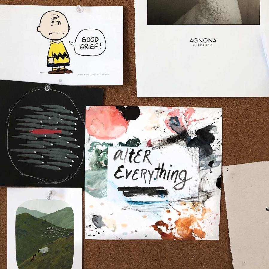 Alter Everything Moodboard.