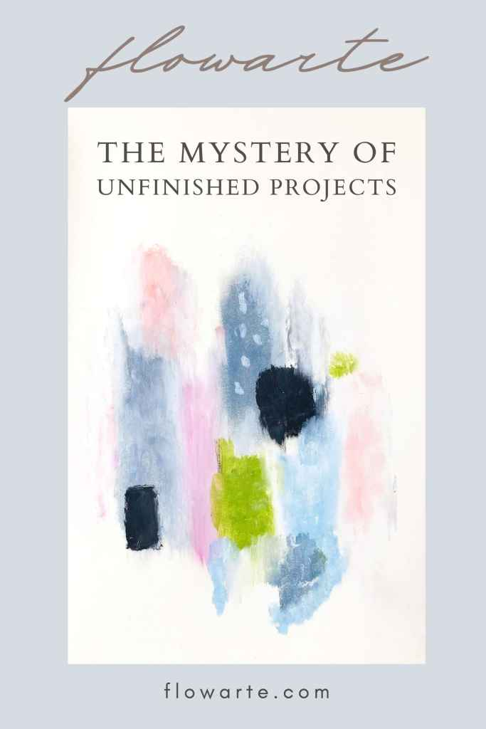 The mystery of unfinished projects