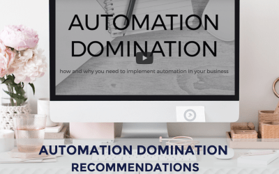 Automation Domination Recommendations