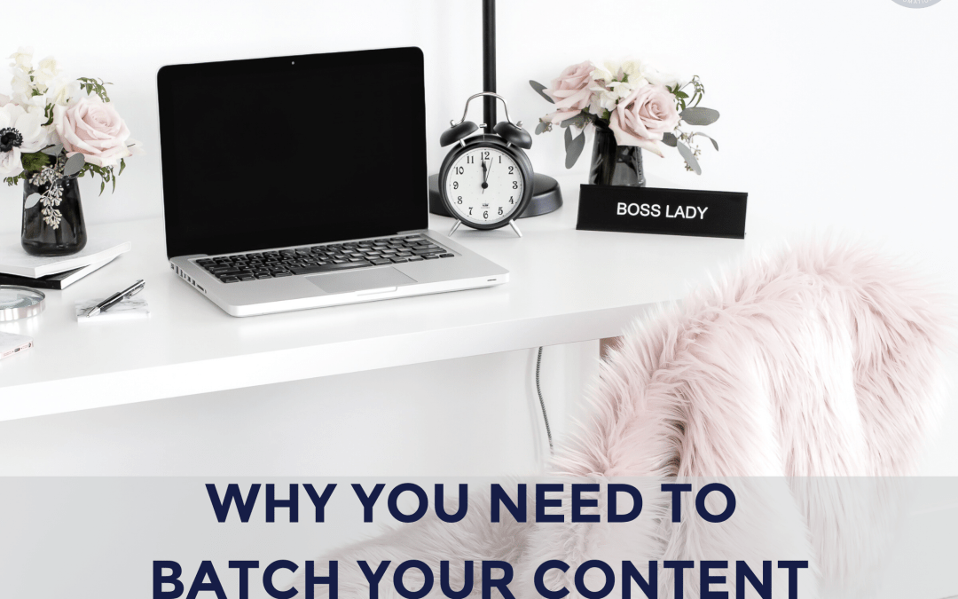 Why You Need to Batch Your Content