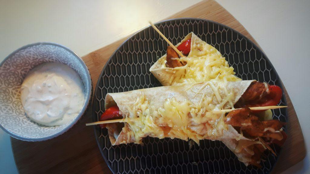 Koolhydraatarme burrito's