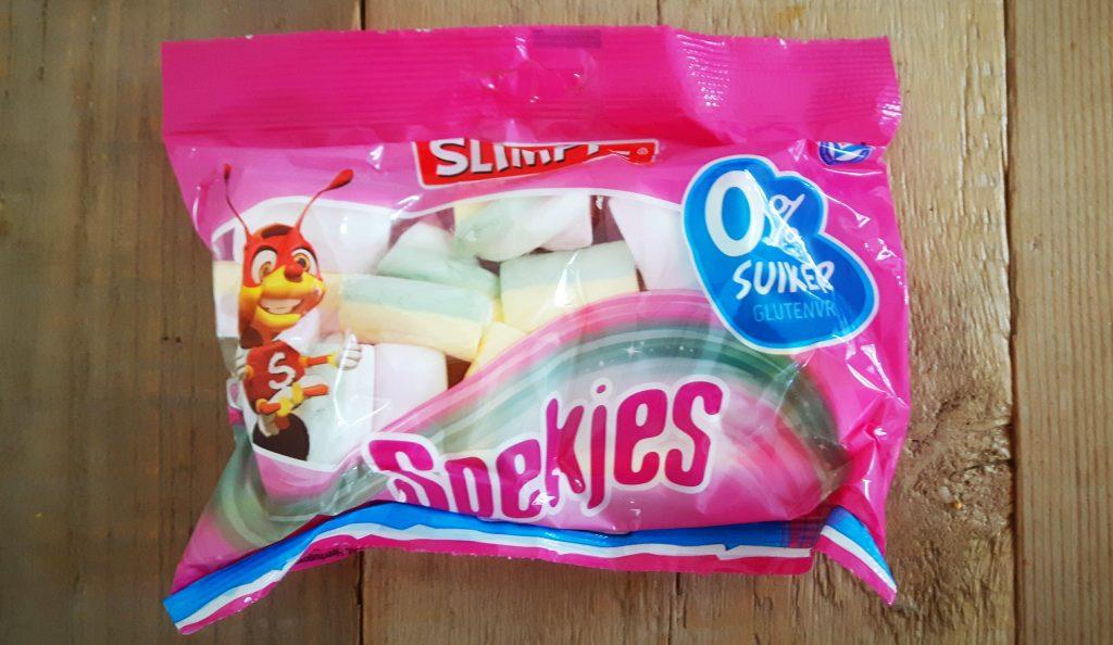 Suikervrije spekjes van Slimpie