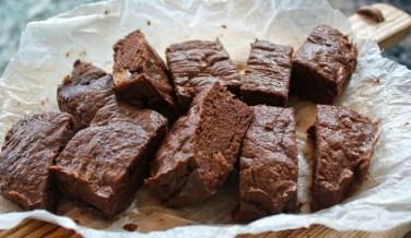 Koolhydraatarme tahin-brownies
