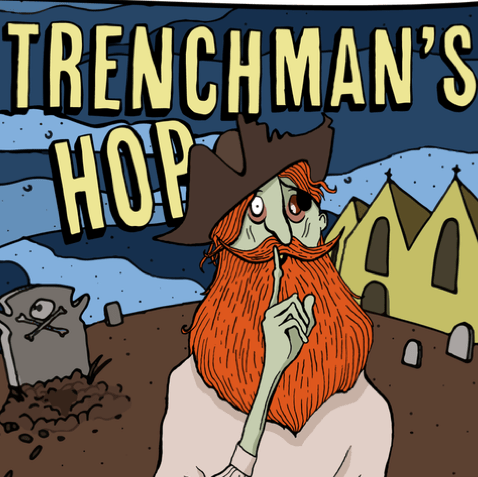 Trenchman's Hop IPA - 3.8% (500ml Bottle)
