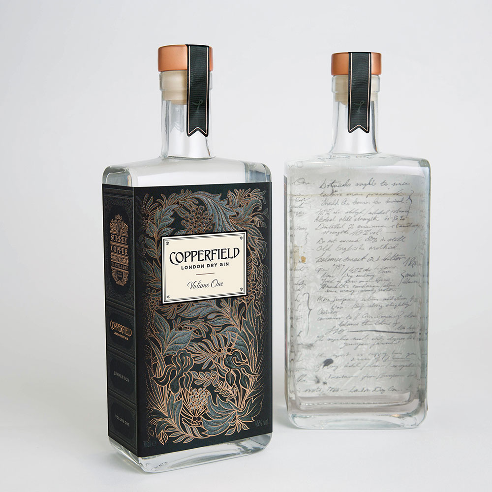 Copperfield London Dry Gin 45% (Volume 2)