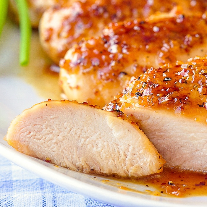 Honey & Mustard Chicken Breast Fillets (2)