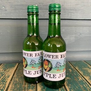 Flower Farm Apple Juice Small Bottle X 6