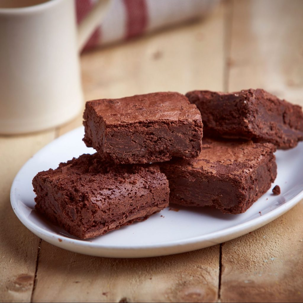 Handmade Gluten Free Double Chocolate Brownies (4)