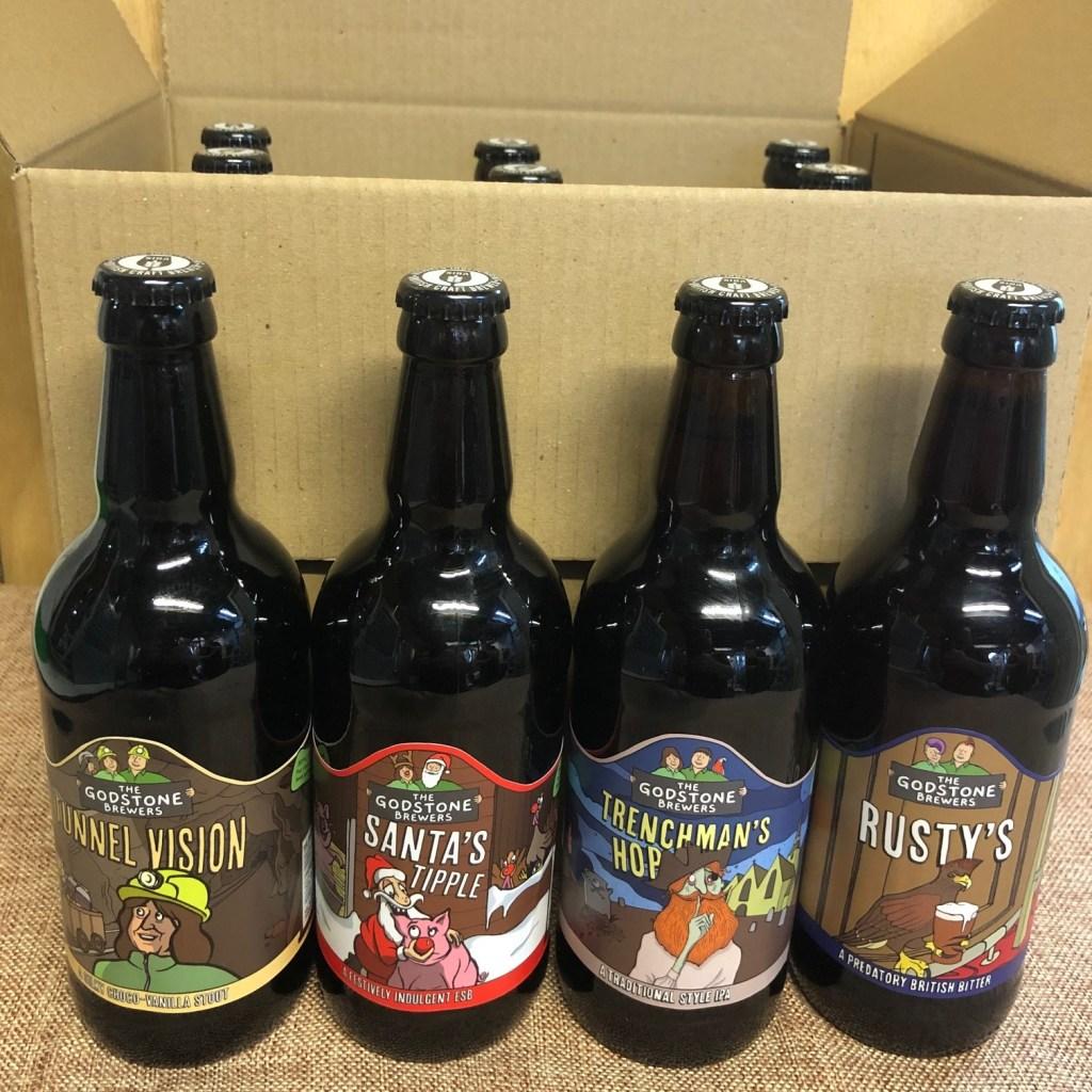 Godstone Brewers Beer