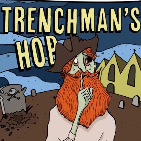 Trenchman's Hop IPA - 3.8% (500ml Bottle)