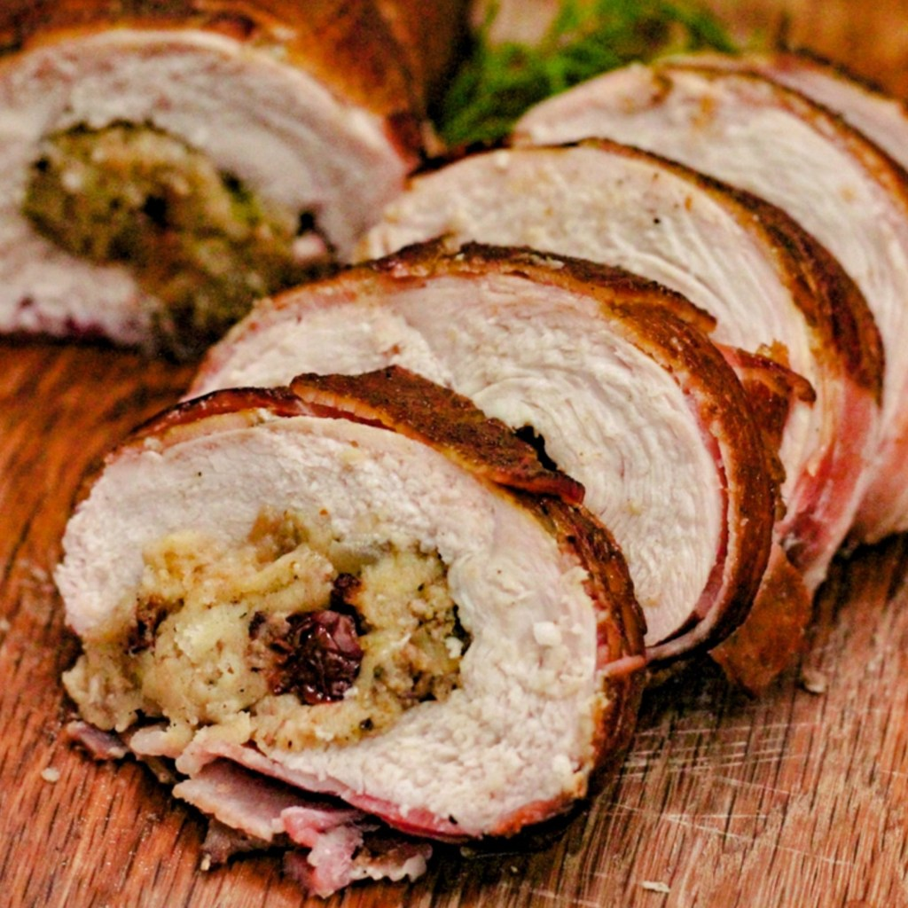 Special Breast Road (Wrapped in Bacon with Stuffing!)