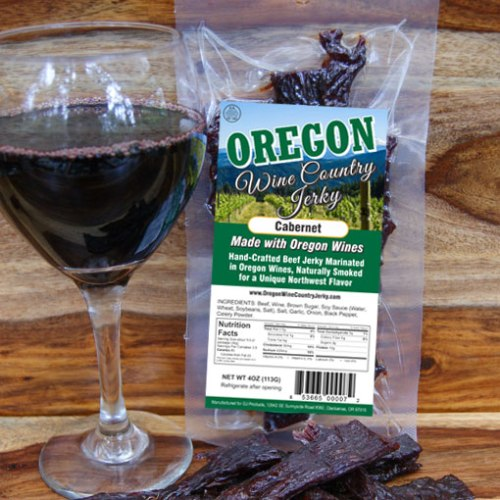 Oregon Wine Country – Cabernet Beef Jerky