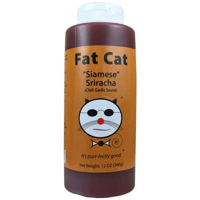 "Fat Cat ""Siamese"" Sriracha Sauce"