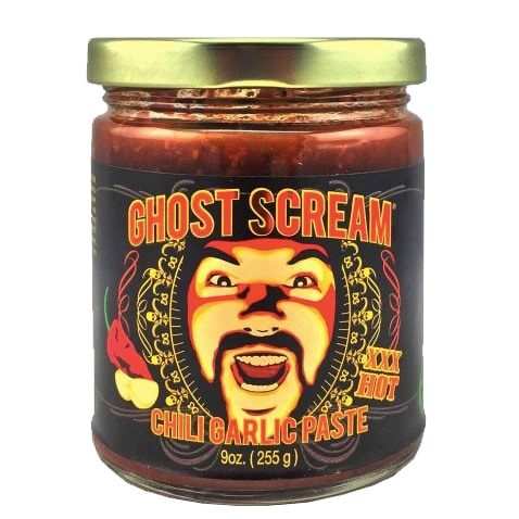 Ghost Scream Chili Garlic Paste