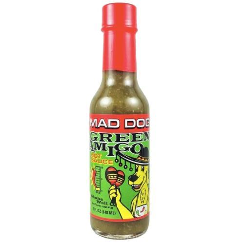 Mad Dog 357 Green Amigo Hot Sauce