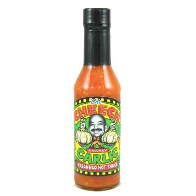 The Cheech Gnarly Garlic Habanero Hot Sauce