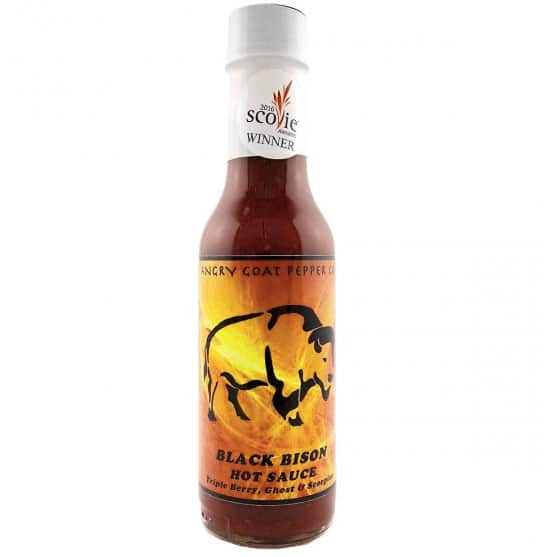 Angry Goat Pepper Co. Black Bison Hot Sauce