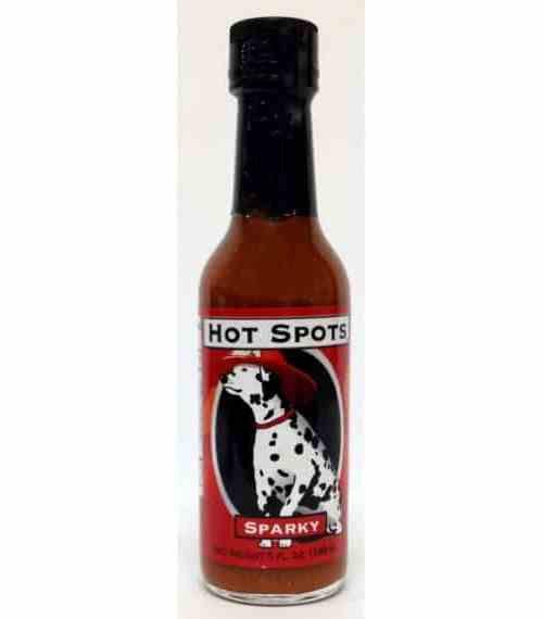CaJohns Hot Spots Sparky Hot Sauce