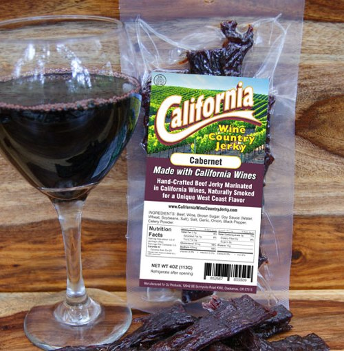 California Wine Country – Cabernet Beef Jerky