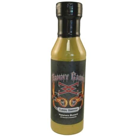Danny Cash Flaming Habanero Mustard