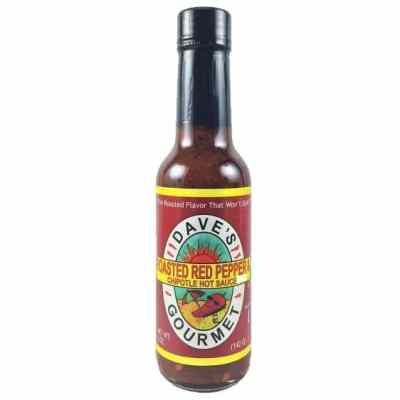 Dave's Gourmet Roasted Red Pepper & Chipotle Hot Sauce