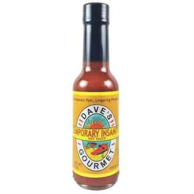 Dave's Gourmet Temporary Insanity Hot Sauce