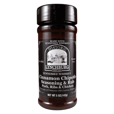 Historic Lynchburg Tennessee Whiskey Cinnamon Chipotle Seasoning & Rub