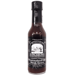 Historic Lynchburg Tennessee Whiskey WorcesterFire Steak Sauce