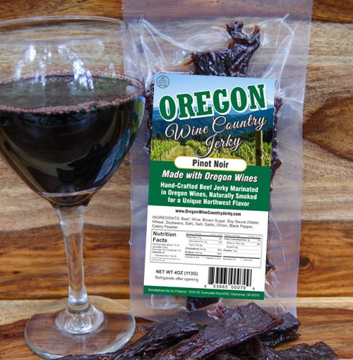 Oregon Wine Country – Pinot Noir Beef Jerky