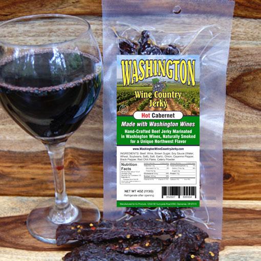Washington Wine Country – Hot Cabernet Beef Jerky