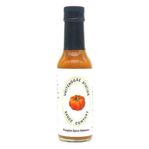 Whitehouse Station Pumpkin Spice Habanero Hot Sauce