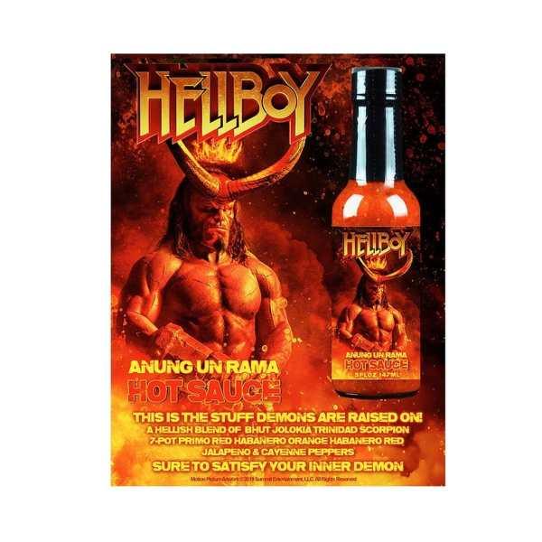 Hellfire Hellboy Anung Un Rama Hot Sauce