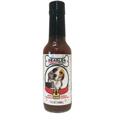 Beagle Freedom Project Chipotle Hot Sauce - April