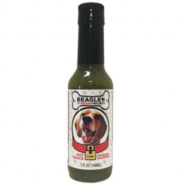 Beagle Freedom Project Crushed Jalapeno Hot Sauce - Leo